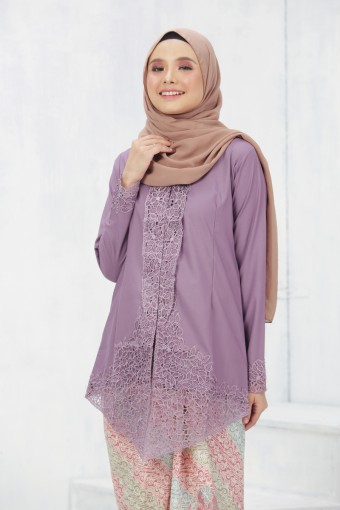Kebaya Sulam Luxe - LAVENDER (TOP ONLY)