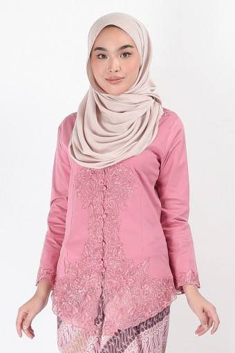 Kebaya Darmani Pink (Top Only)