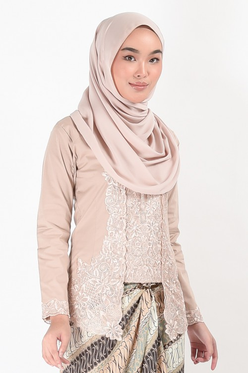 Kebaya Mehrani Mocha (Top Only)