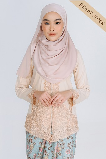 Kebaya Mahsuri - Beige (Top Only)