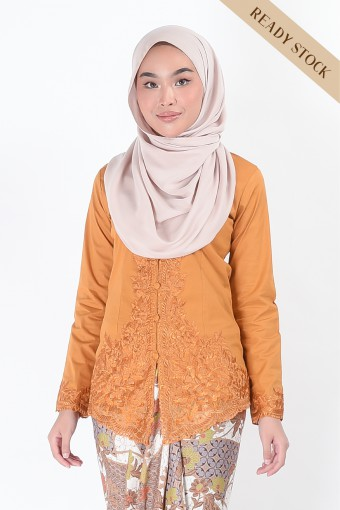 Kebaya Nismara Mustard (Top Only)