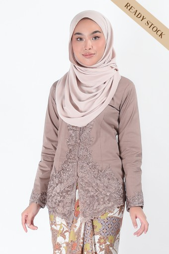 Kebaya Nismara Mocha (Top Only)