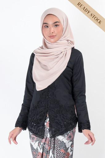 Kebaya Nismara Black (Top Only)