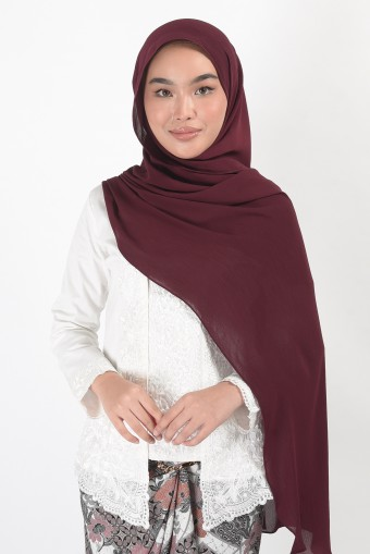 (READY STOCK) MODESTRO Pure in Wine Red
