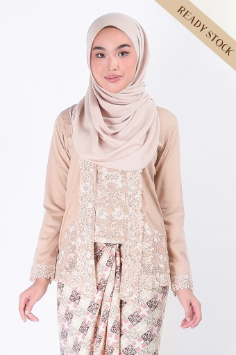Kebaya Dayyan Mocha (Top Only)
