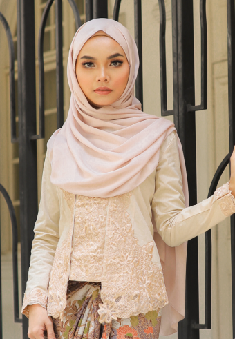 Kebaya Mustika - Beige (Top Only)