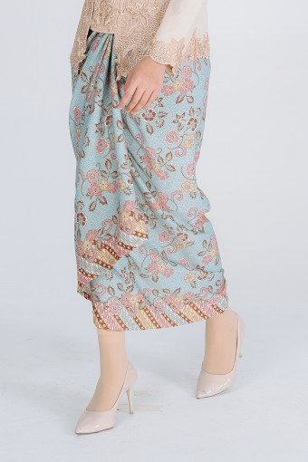 Pario Songket Delaila - Blue