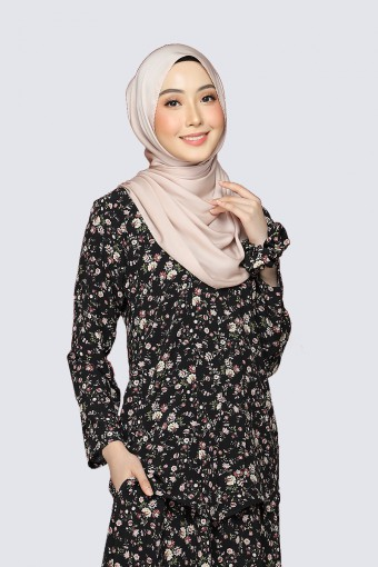 Kebaya Andaman - Black Pearl (Top Only)