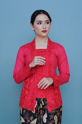 Kutu Baru Kateeja - RED (TOP ONLY)