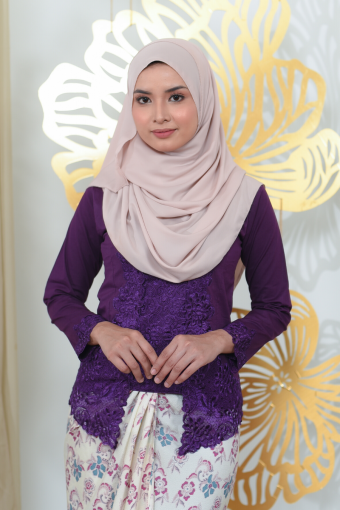 Kutu Baru Seera - DARK PURPLE (TOP ONLY)