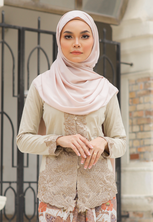 Kebaya Mahsuri - Khaki (Top Only)
