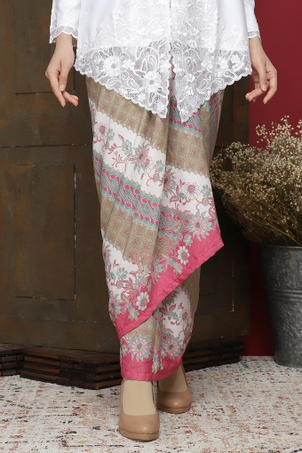 Pario Songket Lily - Pink