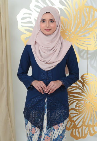 Kebaya Mayangsari - Dark Blue (Top Only)
