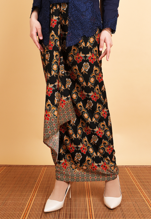 Pario Songket Seroja - Red
