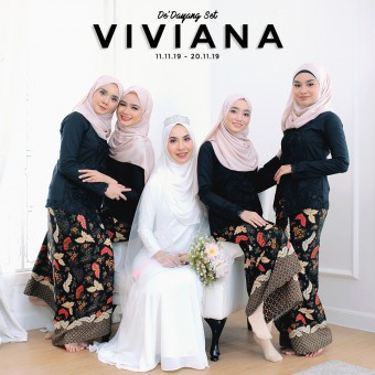KBK HITAM X WARDA ORANGE (VIVIANA)
