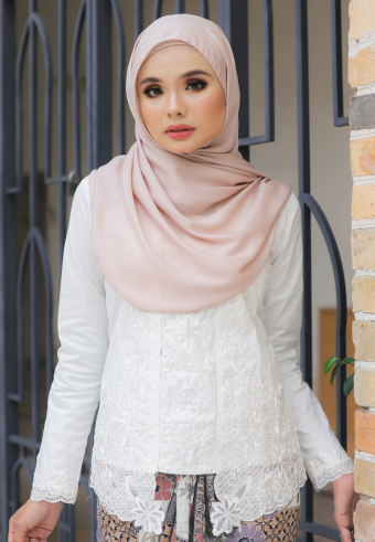 Kebaya Mustika - White (Top Only)