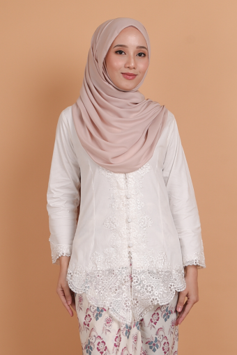 Kebaya Widuri - White (Top only)