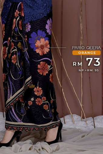 Pario Songket Qeera - ORANGE