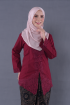 Kebaya Teja - Cherry (Top Only)